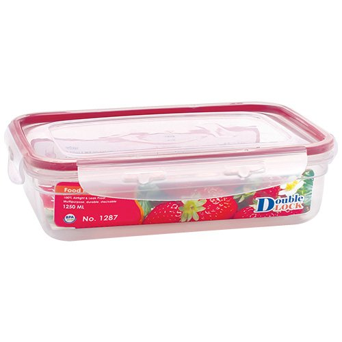 The Reusable Paleo Meal Plan container (BPA-Free, 1250ml)