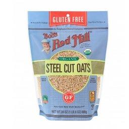Organic Steel Cut Oats by Bob's Red Mill