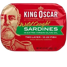 Wild Brisling Sardines in Extra Virgin Olive Oil