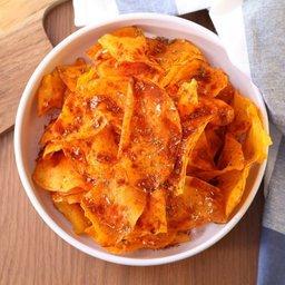 Sweet potato chips, paprika & oregano flavor (large)