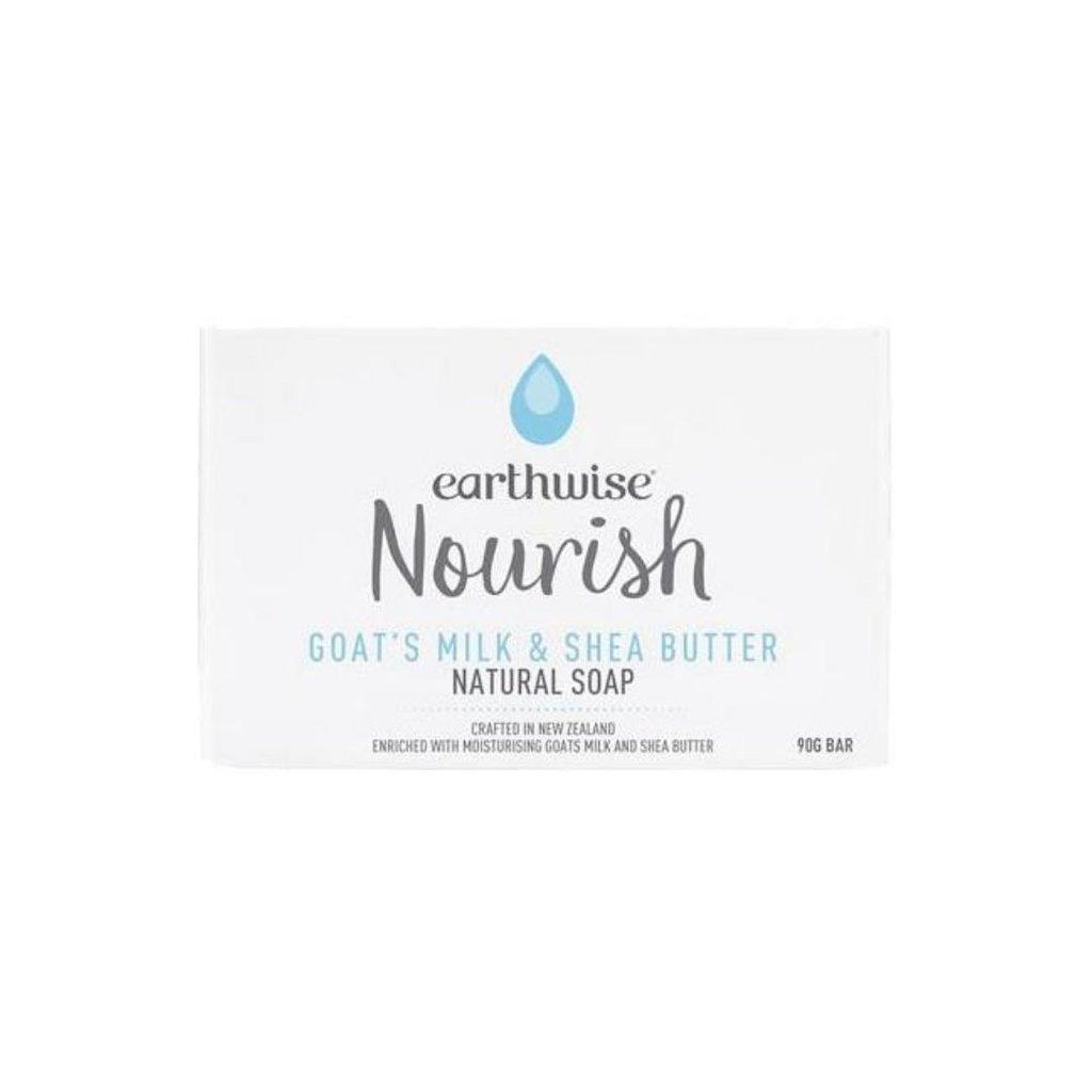 Earthwise Nourish Goat's Milk & Shea Butter Natural Soap