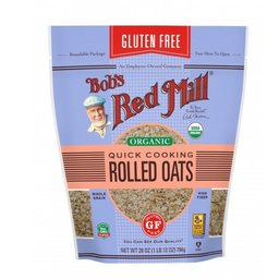 Organic Rolled Oats by Bob's Red Mill