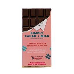 Siamaya Single Origin Chocolate 80% Cacao + Milk and Vanilla