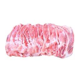 Sliced Pork Collar - Shabu Shabu