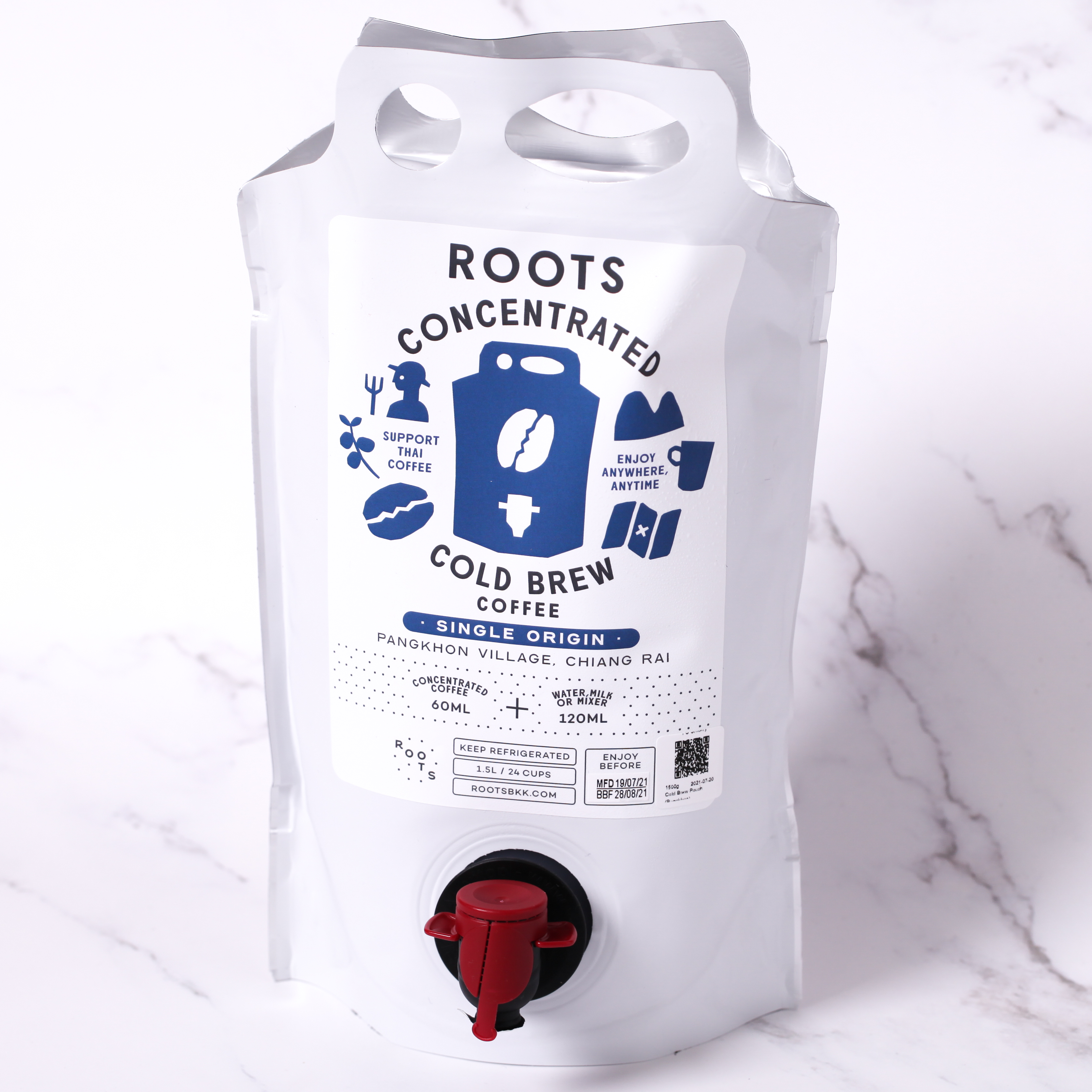Roots Concentrated Cold Brew Coffee (single origin)
