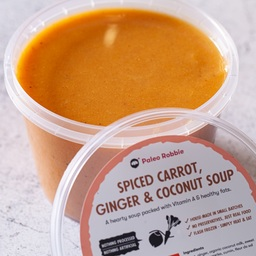 Spiced Carrot, Ginger & Coconut Soup (large) 600ml