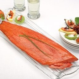 Wild Cold Smoked Sockeye Whole Fillet