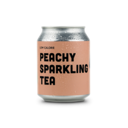 Pushers Peachy Sparkling Tea