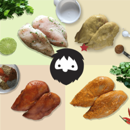 7 Flavors of Marinated Pasture-fed Chicken Breast