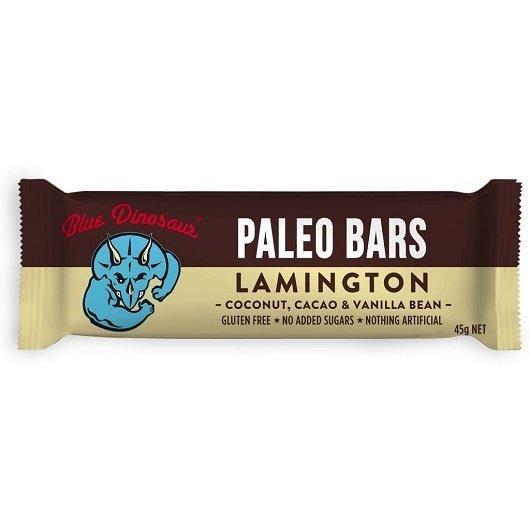 Blue Dinosaur Paleo Bar - The Lamington