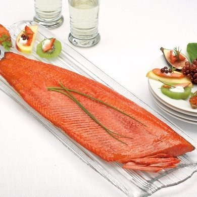 Wild Cold Smoked Sockeye 80gr Pack