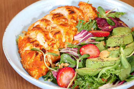 Piri piri chicken salad