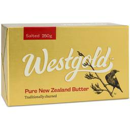 Grass-fed salted butter by Westgold