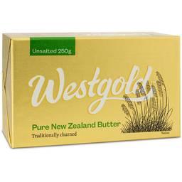 Grass-fed unsalted butter by Westgold